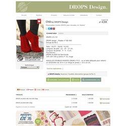 """Chili - Chaussettes courtes DROPS avec torsades, en """"Alaska"""". - Free pattern by DROPS Design"""