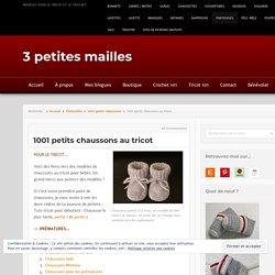 1001 petits chaussons à tricoter