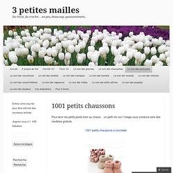 1001 petits chaussons