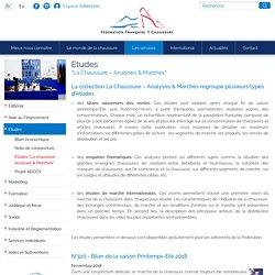 """Etudes """"La Chaussure – Analyses & Marchés"""""""