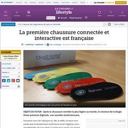 La première chaussure connectée et interactive est française