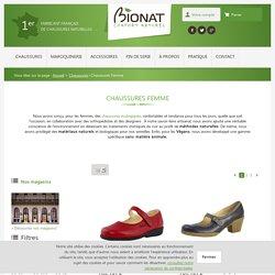 → Chaussures écologiques & naturelles pour Femme