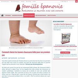 Chaussures bébé premiers pas : 4 critères indispensables