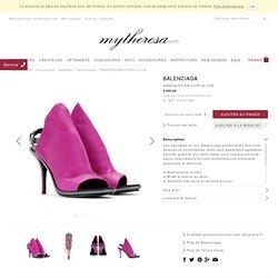SANDALES EN CUIR GLOVE - Talons hauts - Sandales - Chaussures - Luxe et Mode pour femme - Vêtements, chaussures et sacs de créateurs internationaux