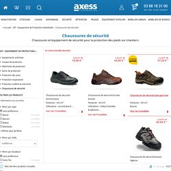 Chaussures de s�curit� de travail professionnelles