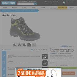 Chaussures randonnée homme Forclaz 100 Novadry QUECHUA - Chaussures randonnée