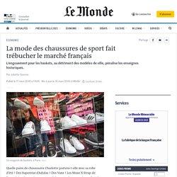 La mode des chaussures de sport fait trébucher le marché français