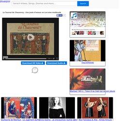 Le Tournoi de Chauvency - Une joute d'amour en Lorraine medievale