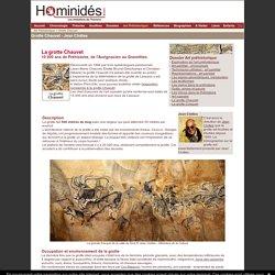 Chauvet - grotte - Clottes - Art préhistorique - grotte chauvet
