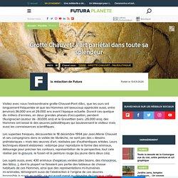 Autour de -30.000 ans/ - 26 000 ans. Grotte Chauvet : l'art pariétal.