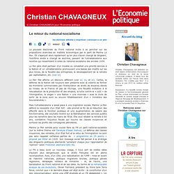 Christian CHAVAGNEUX » Blog Archive » Le retour du national-socialisme