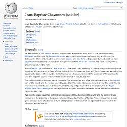 Jean-Baptiste Chavannes wikipedia
