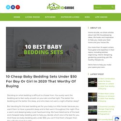 10 Cheap Baby Bedding Sets Under $50 For Boy Or Girl In 2020
