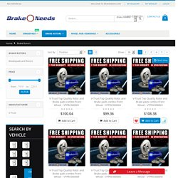 Cheap Brake Rotors, Drums, Rotors Replacement – Brake Needs