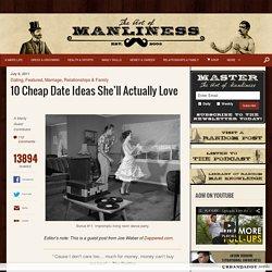 10 Cheap Date Ideas She'll Actually Love