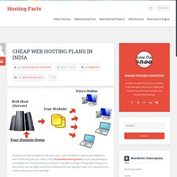 Cheap Web Hosting Plans in India