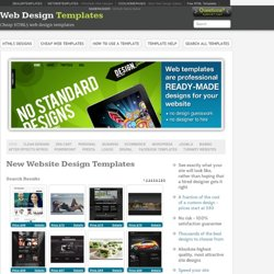Cheap HTML5 web design templates