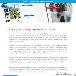 Cheap instagram reel views