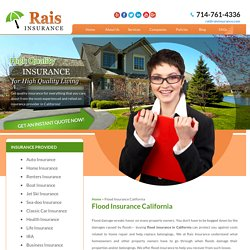 Instant Flood Insurance Quotes and Service
