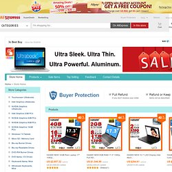Wholesale - Cheap Laptops, Tablet PCs, Cell Phones & more at YunSenBuy.com
