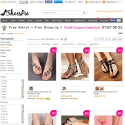 Buy Cheap Flat Sandals For Women Online Store At Shoespie.