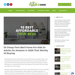 10 Cheap Twin Bed Frame For Kids Or Adults On Amazon In 2020