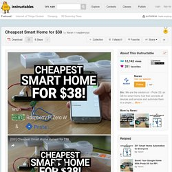 Cheapest Smart Home for $38: 8 Steps (with Pictures)