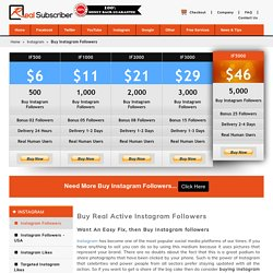 Buy Instagram Followers- CheapFollowers
