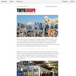 Cheapo hack #1 - Cheapo Beginner's Guide to Tokyo