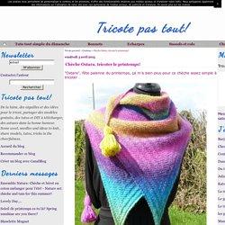 Chèche Ostara, tricoter le printemps!
