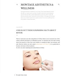 Check out these surprising facts about Botox