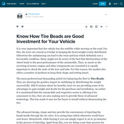 Know How Tire Beads are Good Investment for Your Vehicle : checkeredtire — LiveJournal
