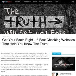 6 Best Fact Checking Websites That Help You Distinguish Between Truth and Rumors