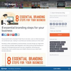 Small Business Branding Checklist: 8 Tips for Success - The Creative Entrepreneur