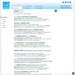 checklists - ENERGY STAR Search Results