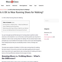 Checkout type of Shoes is right for your workout – Masstoclass Guide