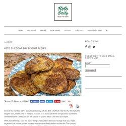 Keto Cheddar Bay Biscuit Recipe