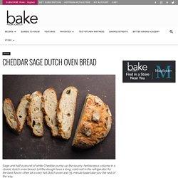 Cheddar Sage Dutch Oven Bread - Bake from Scratch