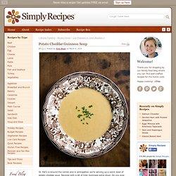Potato Cheddar Guinness Soup Recipe