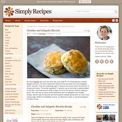 Cheddar and Jalapeño Biscuits Recipe