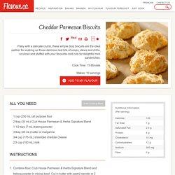 Cheddar Parmesan Biscuits