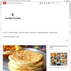 Cheese naan (pain indien au fromage) · Aux délices du palais