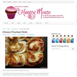 Cheese Pinwheel Rolls | The Hungry Mouse