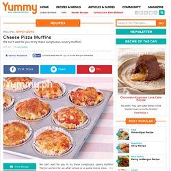 Cheese Pizza Muffins