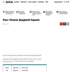 Best Four-Cheese Spaghetti Squash Recipe - How To Make Four-Cheese Spaghetti Squash
