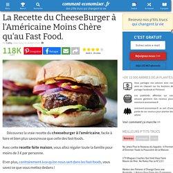 Burgers maison à l'américaine