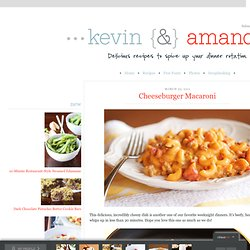 Cheeseburger Macaroni | Kevin & Amanda's Recipes - StumbleUpon