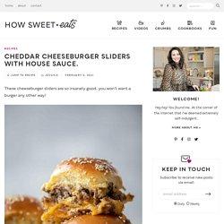 Cheeseburger Sliders - Easy Cheeseburger Sliders Recipe