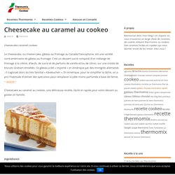 Cheesecake caramel cookeo