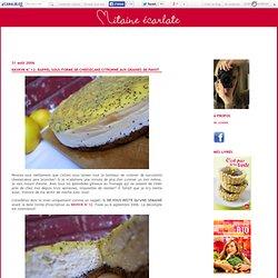 KKVKVK N°12: rappel sous forme de cheesecake citronné aux graines de pavot - Mitaine écarlate